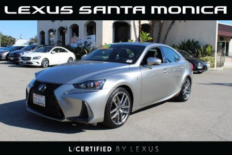 L/Certified 2017 Lexus IS